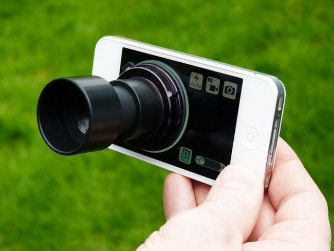 Daylight Viewfinder for iPhone