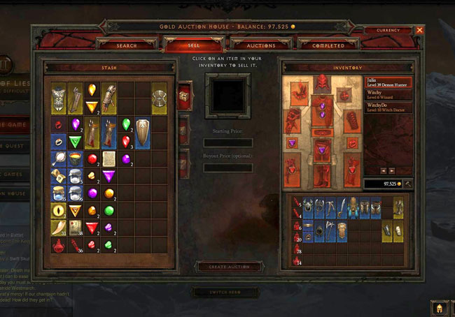 Diablo III Auction House