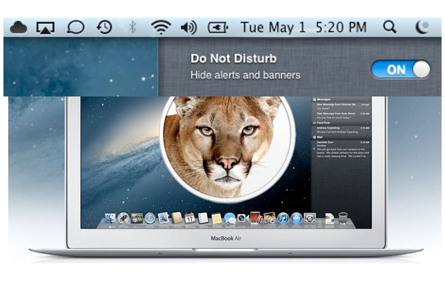 Do Not Disturb OS X
