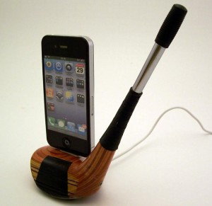 Golf-Club-iPhone-Dock