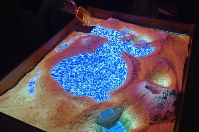 Kinect Interactive Sandbox