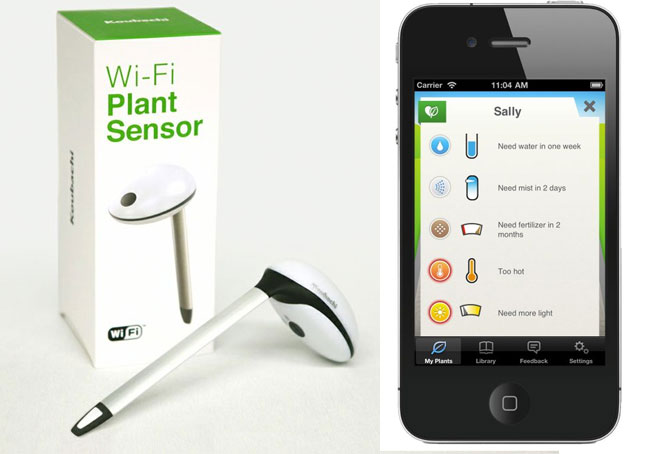 Koubachi Wireless Plant Sensor