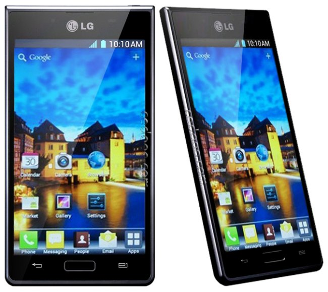LG Optimus L7 P700 shipping in Europe and Asia