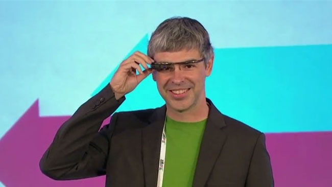 Larry Page Project Glass