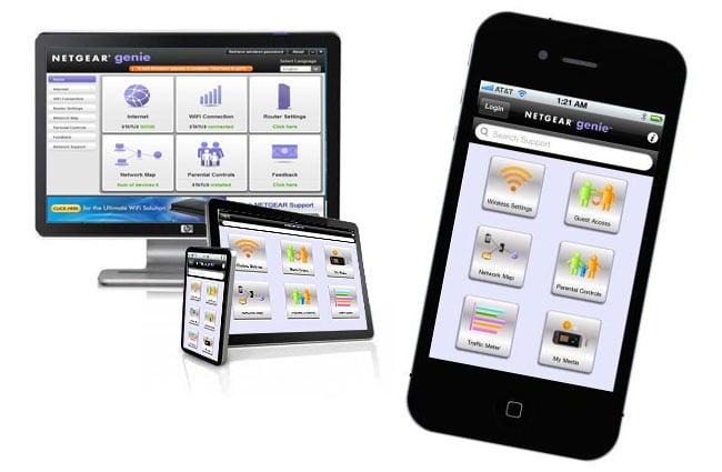 NETGEAR Genie Mobile App