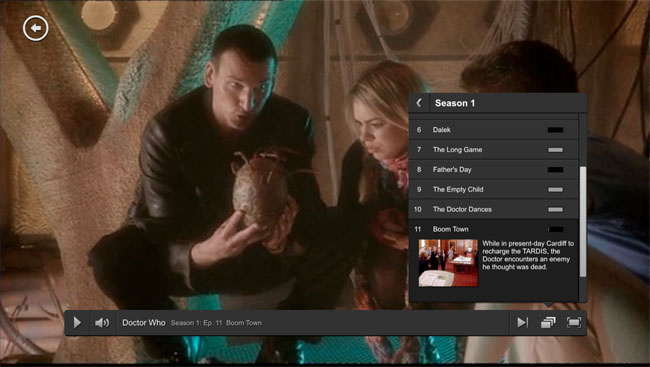 Netflix Web Design