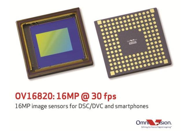 OmniVision Unveils 16 Megapixel 4K2K