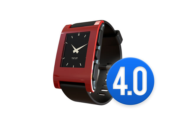 Pebble Smart Watch Bluetooth 4