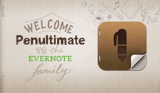 Penultimate Evernote