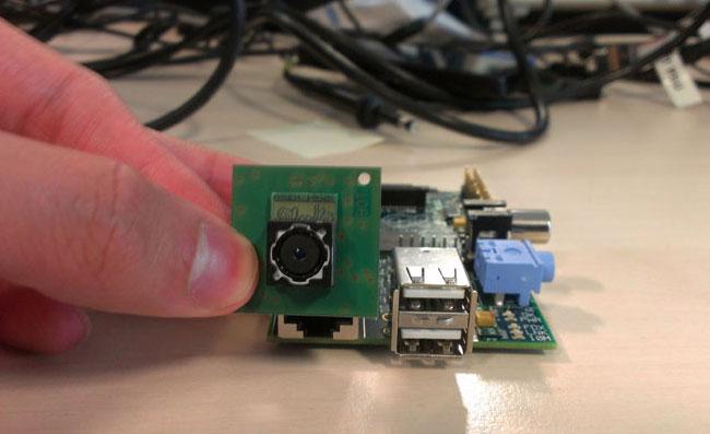 Raspberry Pi Camera Add-on
