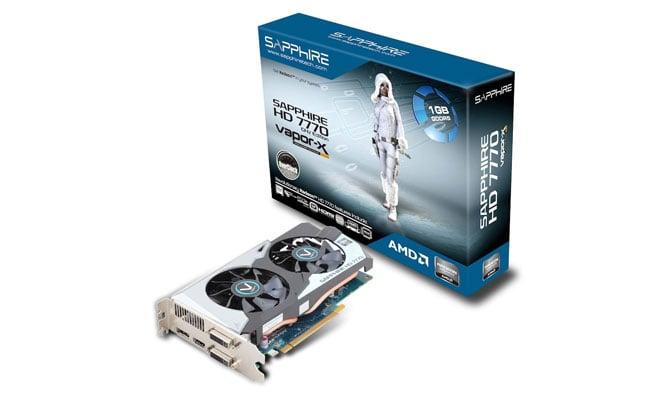 Sapphire Radeon HD 7770 Vapor-X OC