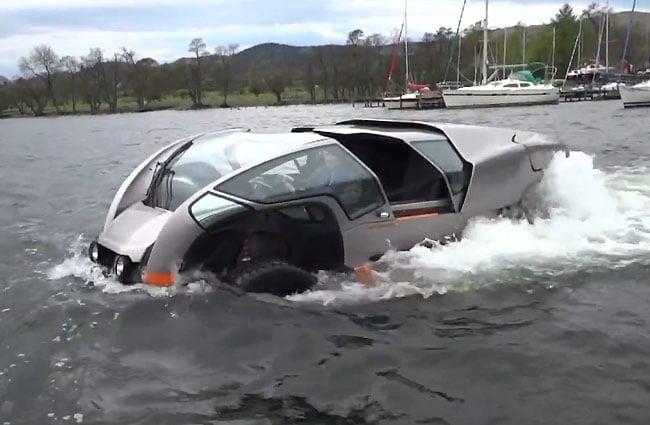 Scamander Amphibious Vehicle vehículo anfibio