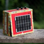 Solar Powered Cigar Box Amp Kit (video)