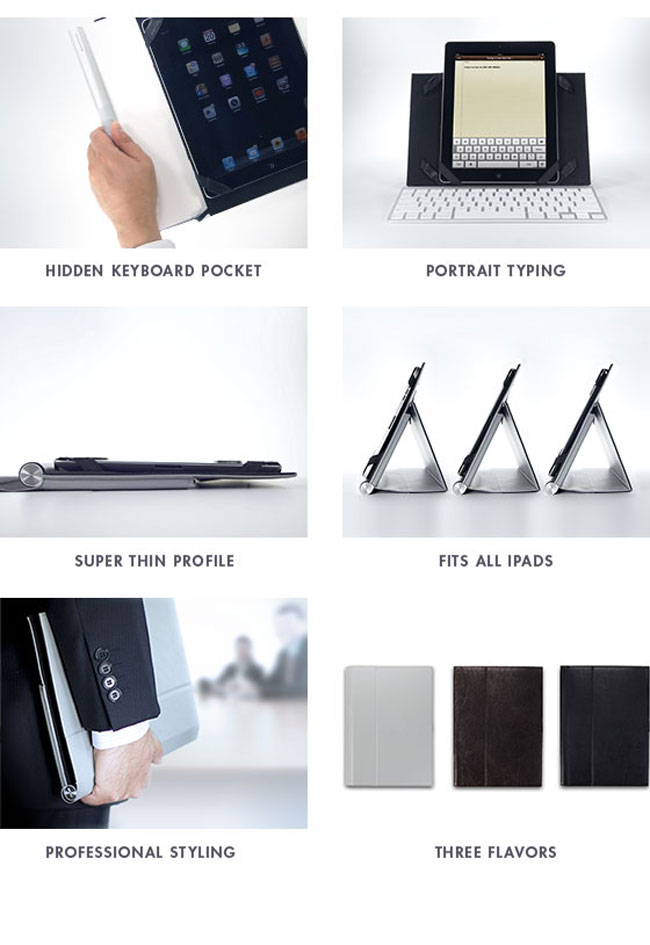 Touchtype iPad case