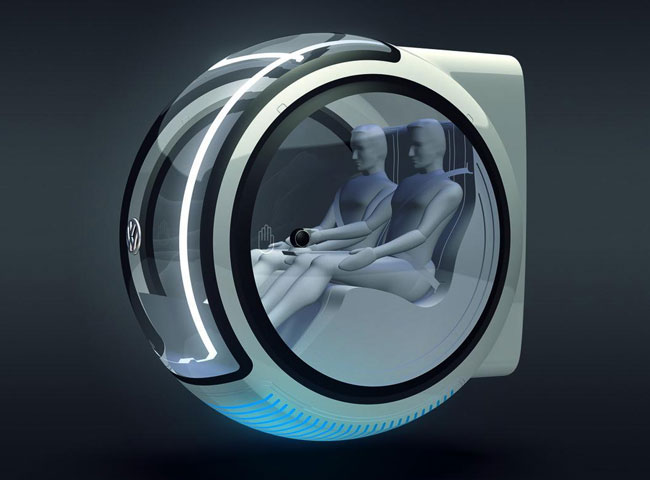 Volkswagon Concept Hover Car