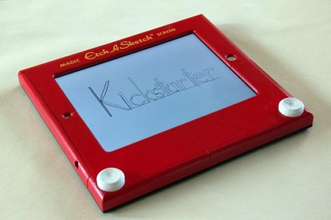 Etcher iPad