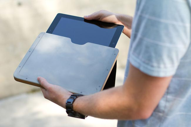 Fine Grain iPad Case