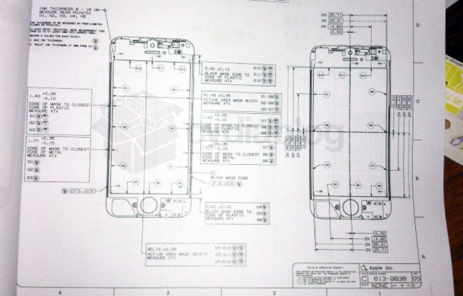 iPhone Blueprint