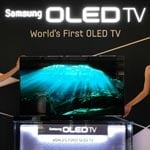 Samsung Demos 55 Inch Production OLED TV