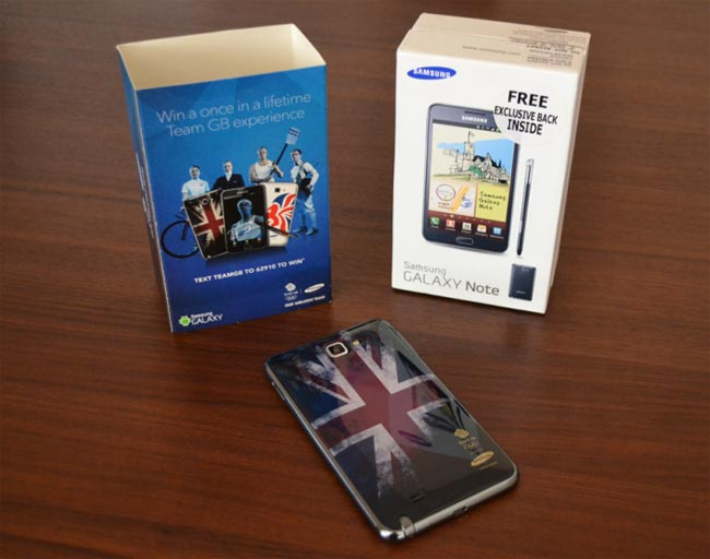 Samsung Galaxy Note Olympic Edition Revealed