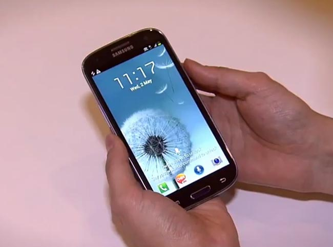 samsung galaxy s iii headed to three uk goes up for pre order