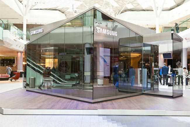 Ening Mobile Pin Pop Up Stores For Uk Galaxy S Iii Launch