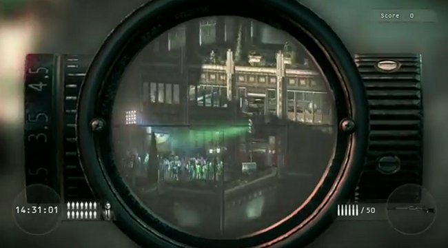 Hitman: Sniper Challenge now available for download for Xbox