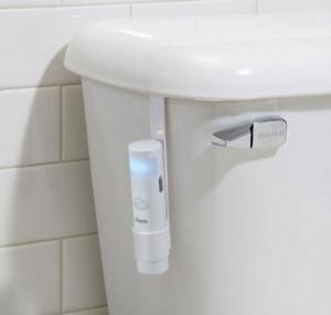 Toilet Sensor Clip helps your aim at night