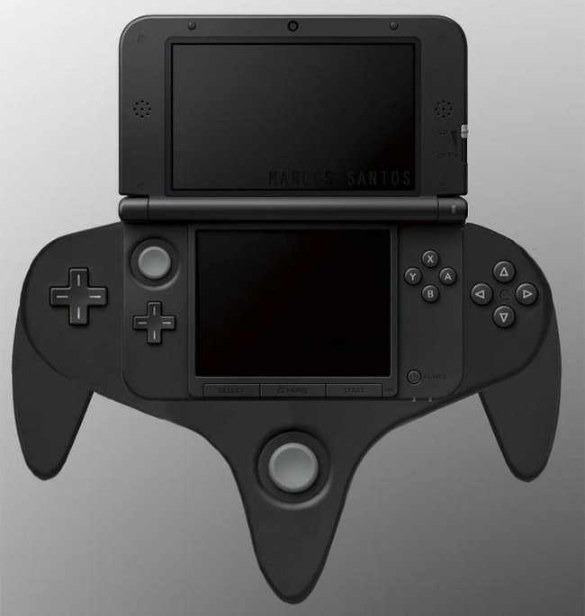 3DS XL Circle Pad Pro controller