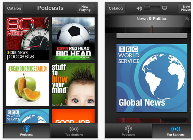 Apple Podcast iOS App