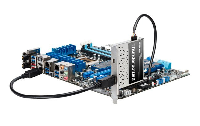 Asus ThunderboltEX PCIe Card Unveiled