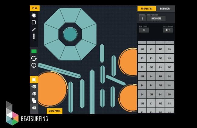 Beatsurfing iPad App