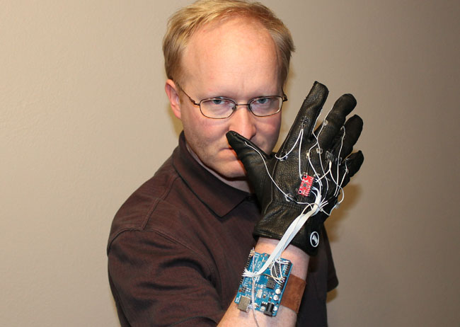 Ben Heck Minority Report Glove