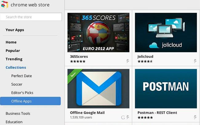 Chrome Store Offline