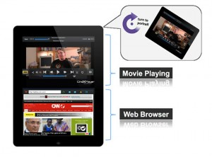 CineXPlayer iPad app