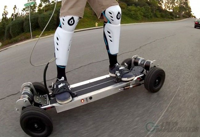 gnarboard trail rider electric skateboard 0 28mph in 1 9. Black Bedroom Furniture Sets. Home Design Ideas