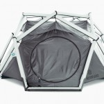 Heimplanet Cave Tent With Inflatable Diamond Grid