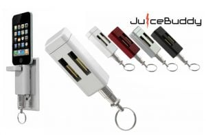 JuiceBuddy Keychain iPhone USB Charger (video)