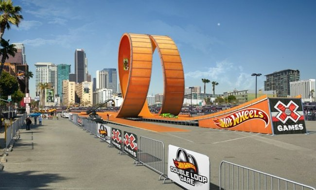 Life Size Hot Wheel Double Loop