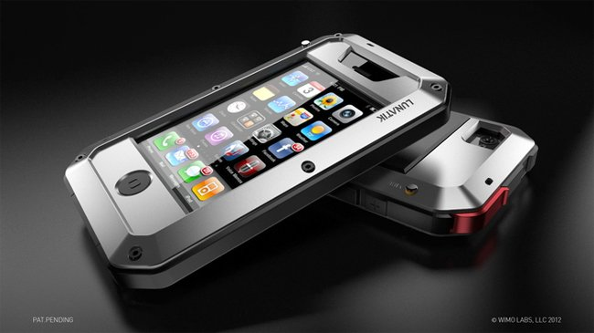 lunatik taktik shockproof rugged iphone case video. Black Bedroom Furniture Sets. Home Design Ideas
