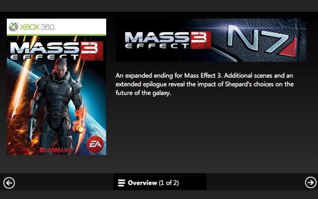 Mass Effect 3 Extended Cut DLC