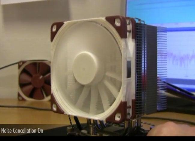 Noise Cancelling Fan