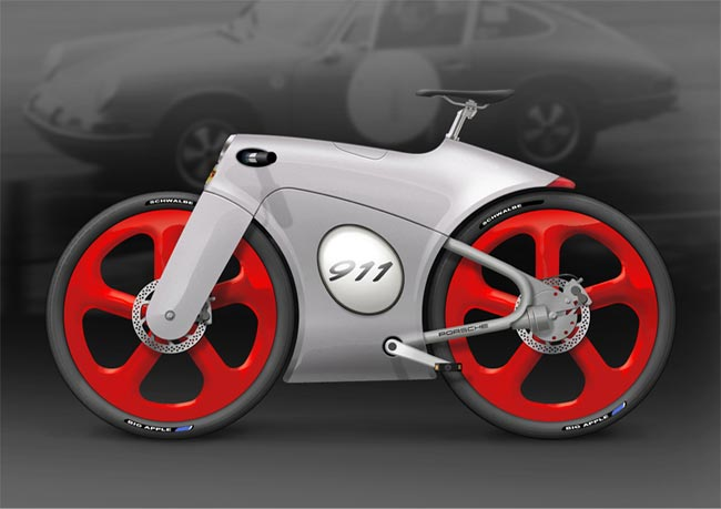 Porsche 911 Bicycle