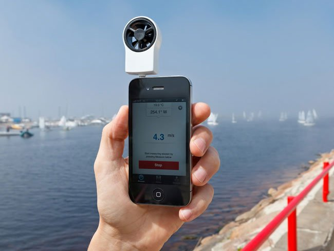 Shaka iPhone Wind Meter