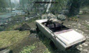 Skyrim Mod Lets Swap Your Horse For A Car (video)