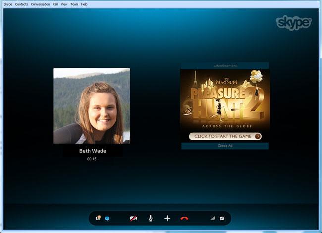 Skype Adverts