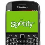Spotify App Lands In BlackBerry App World
