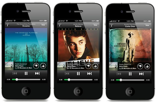 Spotify Adds Pandora Style Free Radio Service To Its iPhone & iPad Apps