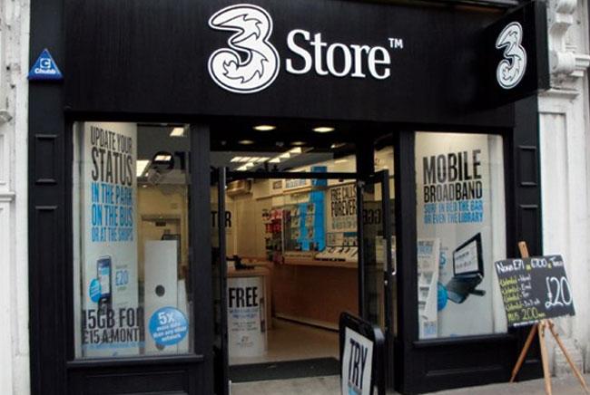 Three UK Mobile Data