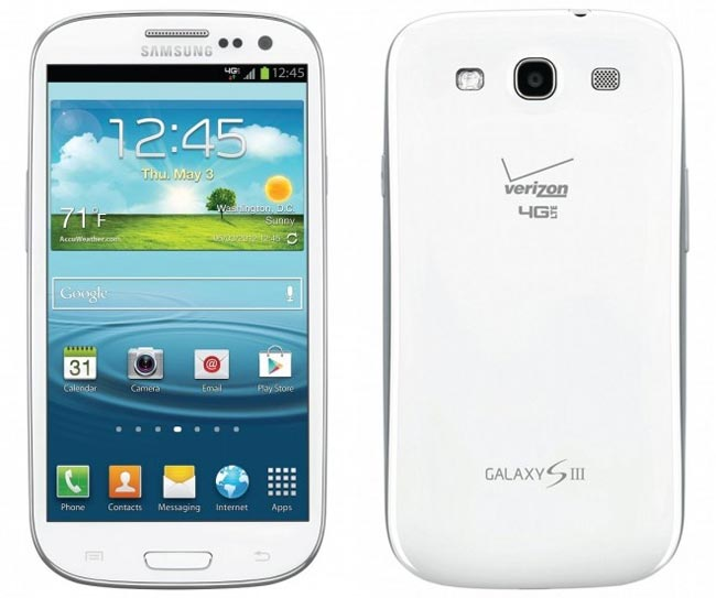 Verizon Samsung Galaxy S III
